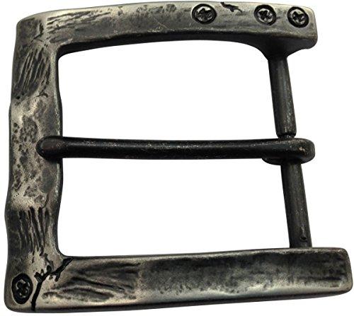 Brazil Lederwaren Gürtelschnalle Used 4,0 cm | Buckle Wechselschließe Gürtelschließe 40mm Massiv | Dorn-Schließe | Für Wechselgürtel bis zu 4cm Breite