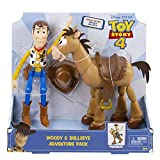Toy Story 4 - Woody & Bullseye Adventure Pack - Re-Create The Movie Magic with This Special Edition Duo Pack!