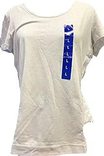 Nautica Women's Short Sleeve Tee, Bright White, S