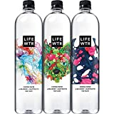 LIFEWTR, Premium Purified Water, pH Balanced with Electrolytes For Taste, 1000 mL (6 Count) (Packaging May Vary), 33.8 Fl Oz (6 Count)