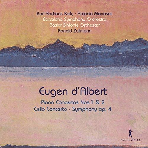 D'Albert: Conciertos Para Piano Nos. 1 Y 2; Concierto Para Chelo; Sinfonía,...