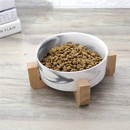 Droog Ceramic voerbak Bus Voedsel Water & Treats voor Honden & Katten Comfortabeler Eten voor Katje En Puppy Duurzame