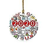 VANFIT 2020 Christmas Ornaments, Christmas Ornament, Friends Quarantine Merry Christmas Ornaments Gift