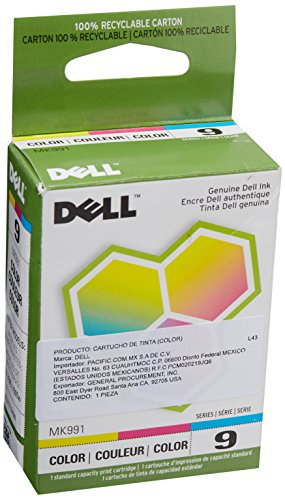 Dell MK991 Series 9 926 V305 Color Ink Cartridge (Cyan Magenta Yellow) in Retail Packaging