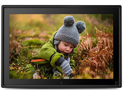 Neumi - Marco de fotos digital con sensor de movimiento (pantalla ancha IPS de 10 pulgadas) 16:9 IPS