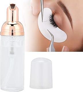 Wimperverlenging reinigingsschuim met een borsteltje, gemakkelijk wimpermake-up verwijderen, oogverzorging [transparant], ...