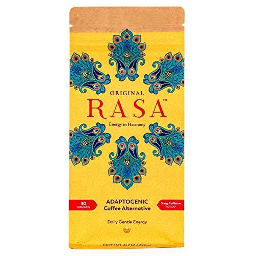 Original Rasa Herbal Coffee Alternative with Ashwagandha, Chaga + Reishi for All-Day Energy + Focus - Caffeine-Free, Organic, Adaptogens, Vegan, Keto, Whole30, 8 Ounce (Best South Indian Restaurant In Orlando Fl)