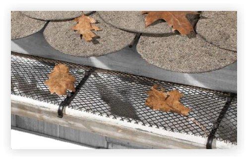 Dachrinnenschutz - 6 m x 16,5 cm Laubschutz Dachrinne Laubstop