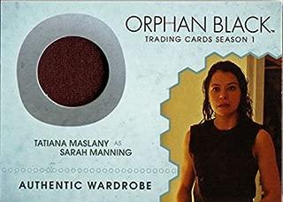 Orphan Black Season 1 M08 Costume Wardrobe Card Tatiana Maslany as Sarah