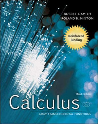 Student Solutions Manual for Calculus: Early Transcendental Functions