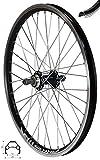 Redondo 20 Zoll Hinterrad Laufrad Hohlkammer Faltrad Fahrrad Felge Schwarz