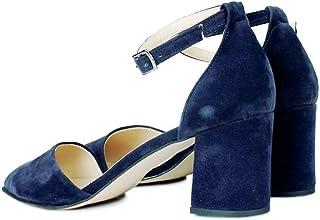 Loggalin 377202 427 Kadın Lacivert Süet Ayakkabı