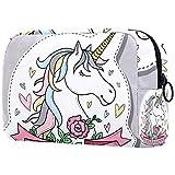 Bolso cosmético impermeable lindo de la moda de las mujeres del regalo de la muchacha, unicornio