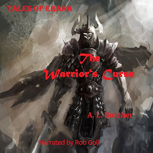 Tales of Erana: The Warrior's Curse audiobook cover art