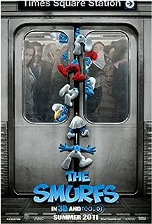 Smurfs (2011) Original Movie Poster 27