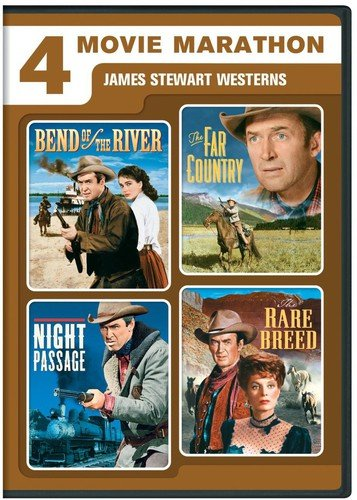 4-Movie Marathon: James Stewart Western Collection (Bend of the River / The Far Country / Night Passage / The Rare Breed) [DVD]