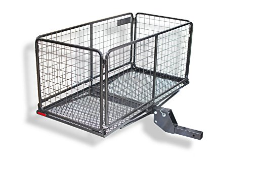 "CARPOD Cargo Carrier Basket with 4"" Raised & Folding Shank (M2205)"
