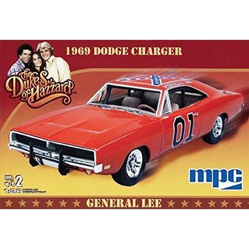 MPC 1969 General Lee Dodge Charger Model Kit
