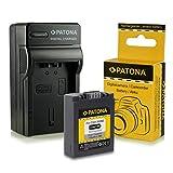 Cargador + Batería CGA-S006 / CGA-S006E para Panasonic Lumix DMC-FZ7 | DMC-FZ8 | DMC-FZ18 | DMC-FZ28 | DMC-FZ30 | DMC-FZ38 | DMC-FZ50