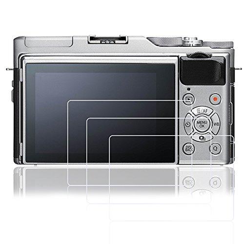 AFUNTA pellicole protettive per Fujifilm x-a5, 3pz antigraffio vetro temperato pellicole di protezione per DSLR fotocamera digitale