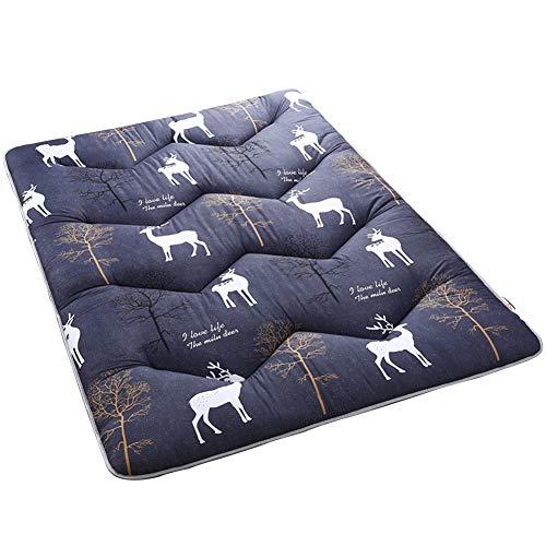 Colchón de Tatami, Antideslizante, Plegable, Transpirable,