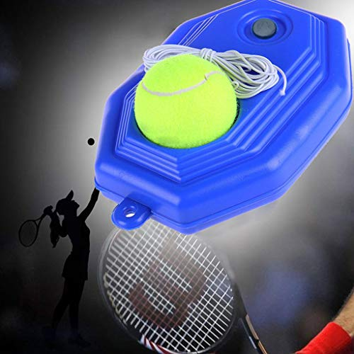 DINA Solo Tennis Trainer Rebound Ball, Fill & Drill Tennis Trainer with String,Rebounder Tennis Practice Equipment