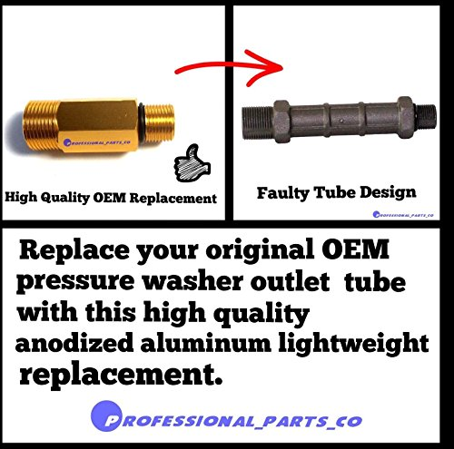 (Ship from USA) Water OUTLET TUBE Replaces 190589GS 190634GS 201497GS for Pressure Washer Pumps /ITEM NO#E8FH4F85451646…