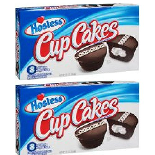 Hostess Chocolate Cupcakes 12.7 oz. Box (16 Count)