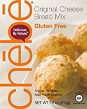 Chebe Bread Original Cheese Bread Mix, Gluten Free, 7.5-Ounce Bags (Pack of 8)