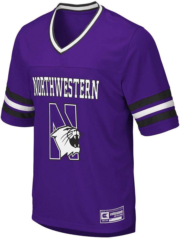 Colosseum Mens Northwestern Wildcats Football Jersey