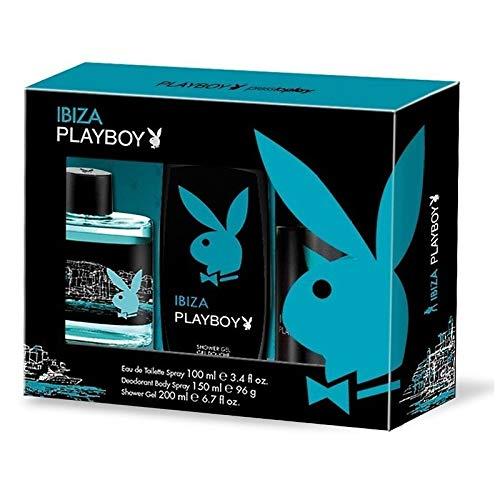 PlayBoy Ibiza Edición Limitada edt 100ml + Desodorante 150ml + Gel 250ml