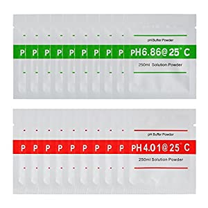 XCSOURCE-20stk-400-686-pH-Meter-Puffer-Lsungs-Puder-fr-schnelle-einfache-przise-pH-Kalibrierung-Wasserreinheit-BI672