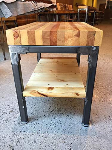 "Grand Boulevard Reclaimed Wood End Table 18"" x 28"""