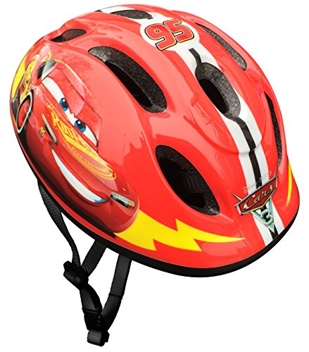 Stamp- Pixar Casque Cars, C893100S, Red, Taille-S