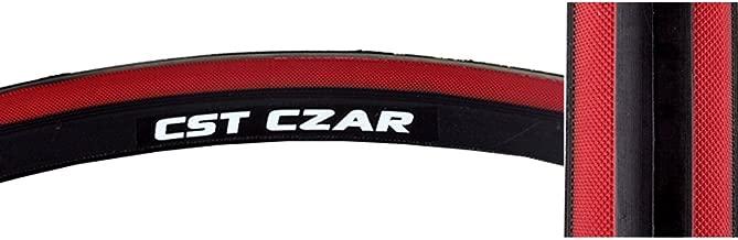 CST Czar Tire - BLK/RED 650C x 23