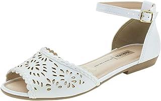 e3fbf5e02 Moda - Branco - Rasteirinhas / Calçados na Amazon.com.br