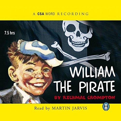 William - The Pirate audiobook cover art