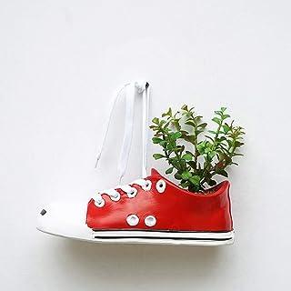 T-14898 Tritow Macetas Maceteros Lona Personalizada Zapato Jarrones de cerámica Colgantes de Pared Macetas de jardín Protección del Medio Ambiente Maceta Maceta