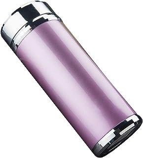 XIAOGAO Regalo De Negocios 304 Inoxidable 320ml/420ml Agua Caliente Botella Doméstica Deportes Al Aire Libre De Viaje De Aislamiento Taza De Agua,Purple,S