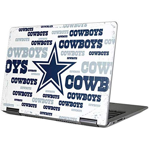 Skinit Decal Laptop Skin for Yoga 710 14in - Officially Licensed NFL Dallas Cowboys Blue Blast Design