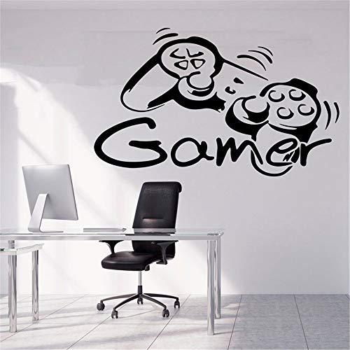Dekorative Wandaufkleber für Gamer, Xbox-Controller, Gamepad-Controller, Poster, Videospiel-Geschenk, Kinderzimmer, Spielzimmer, Dekoration