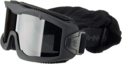Lancer Tactical AERO 3mm Thick Dual Pane Lens Eye Protection Safety Goggle System ANSI..