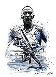 CBYLDDD Field Events Player Poster Jesse Owens Canvas