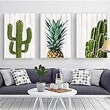 FANGYUAN Nordische Kaktus und Ananas Poster und Drucke