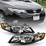ACANII - For 20102011 2012 2013 KIA Forte/Forte Koup Headlights Headlamps Assembly Replacement Driver & Passenger