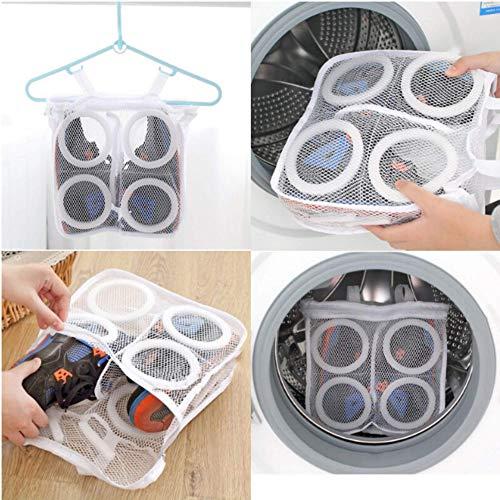 Heatigo 3 Stück Wäschennetz,Waschmaschine Wäschennetz, Wäschesack Waschmaschine, Wäschesack mit Waschmaschinenreißverschluss,SchuhnetzSchuhbeutel, Wäschesackschutz Wäschernetz