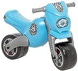 JT-Lizenzen Dohany Rutscher Motorrad Fahrzeug Cross 8 Kinder Laufrad Lauflernrad blau