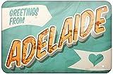 Greetings From Adelaide, Postkarte, 20 x 30 cm, Zinn im