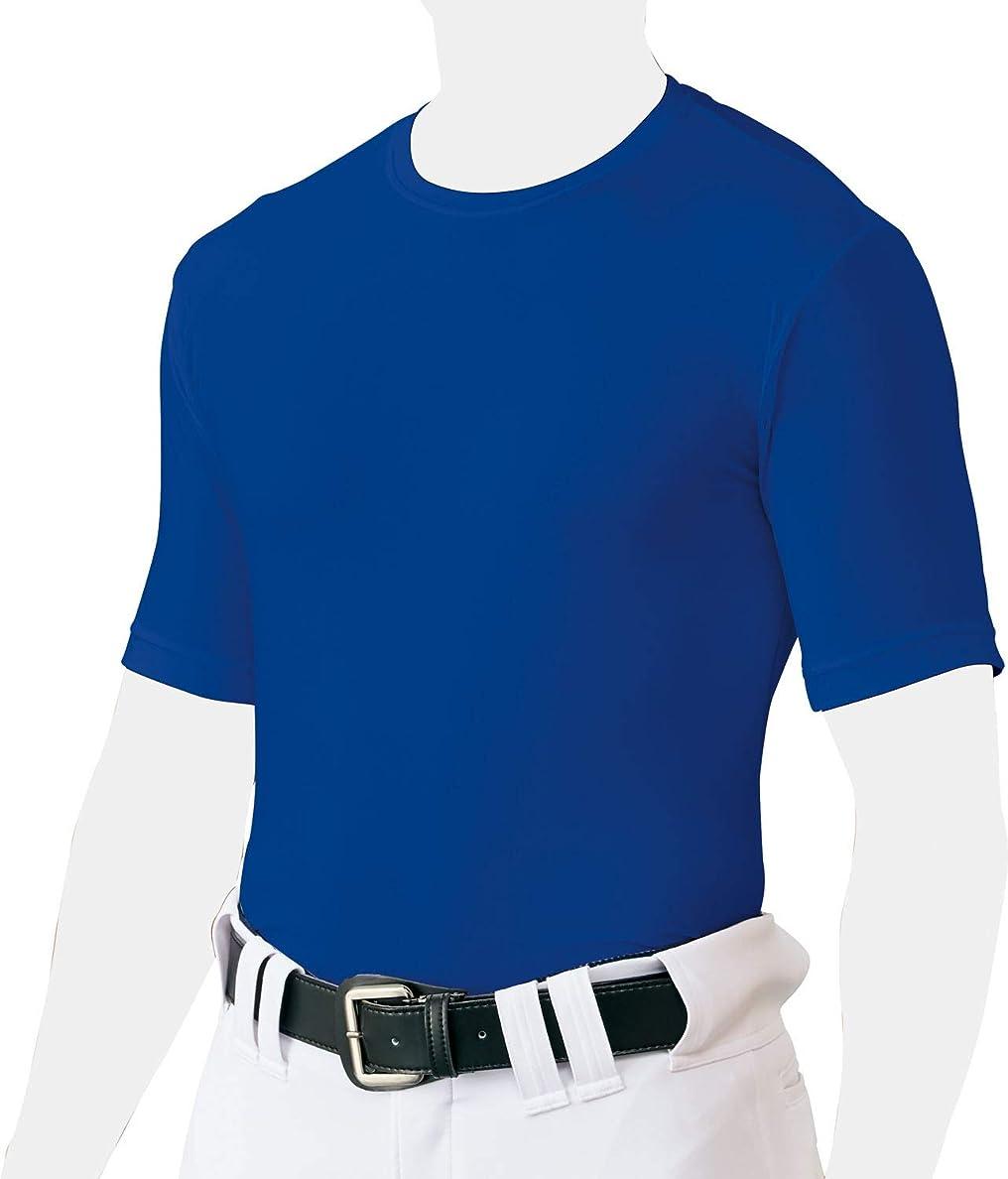 有用オートメーションロッドZETT(ゼット) 野球 アンダーシャツ クルーネック 半袖 ライトフィットタイプ BO1810
