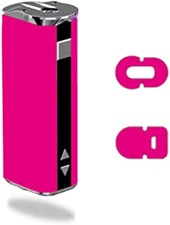 Decal Sticker Skin WRAP Solid Dark Pink Color for Eleaf iStick 30W